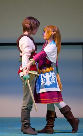 Photo MHDL Zelda SS avec Link